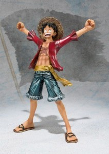 ONE PIECE ZERO MONKEY D LUFFY SP COLOR