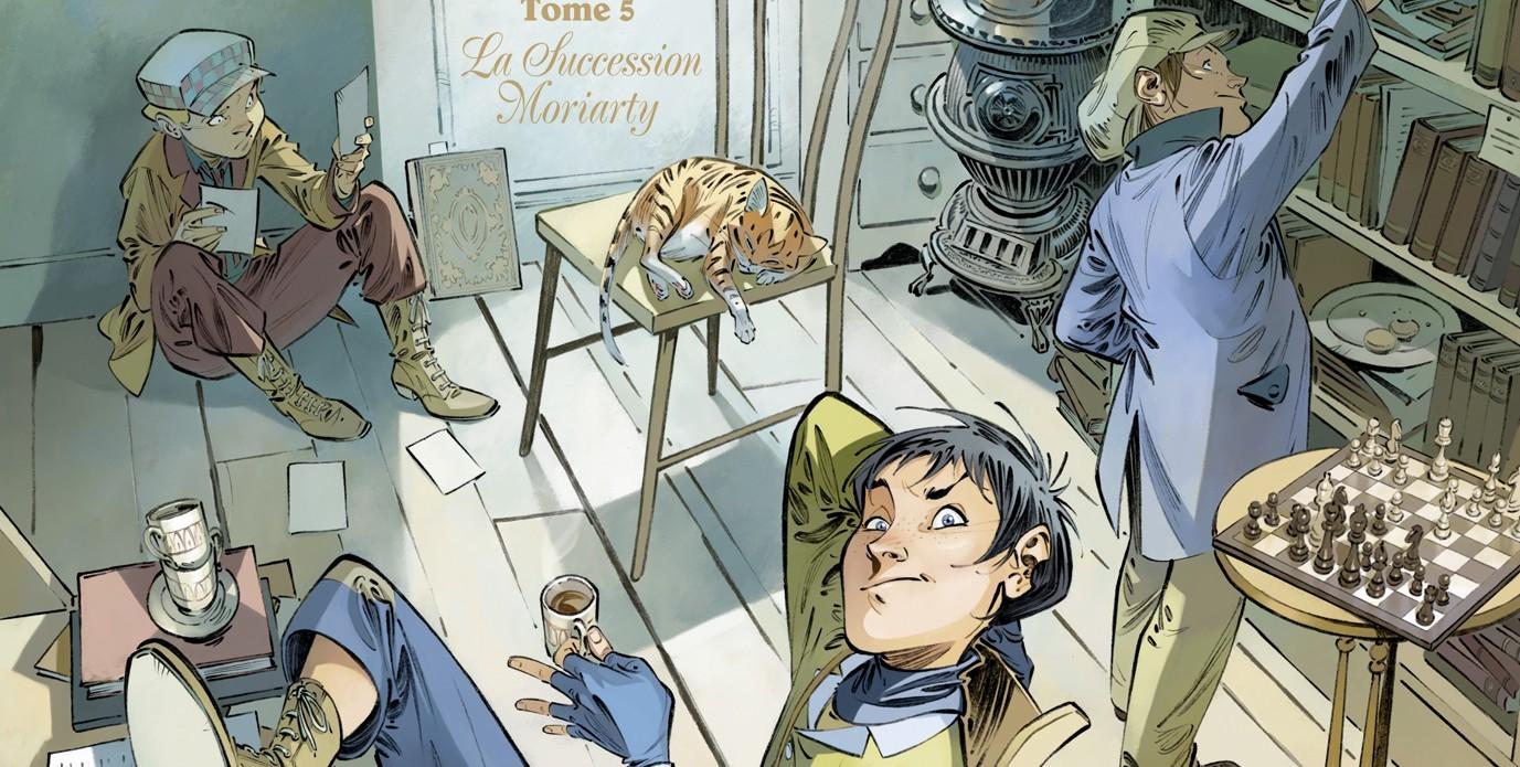 Les Quatre de Baker Street - Tome 5