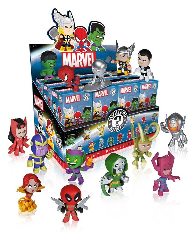 Marvel Comics mystery figurines 6 cm