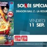 Soirée Dragon Ball Z