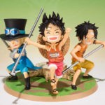 Arrivage : Luffy, Ace et Sabo