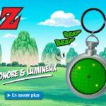 DRAGON BALL – Porte-clés 3D premium «DBZ/Radar»